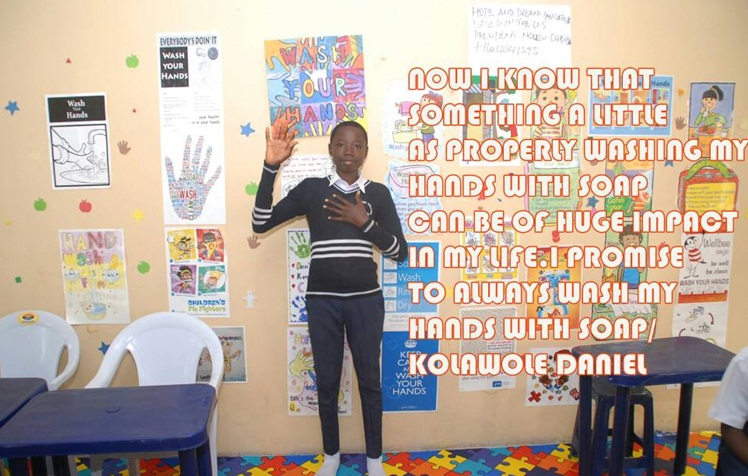 Taking Hand washing to another level for young students in 2017